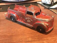 Antique London Toy Fire Truck Rare