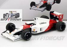 1/18 Truescale Mclaren Honda MP4/6 Ayrton Senna F1 1991 WC San Marino GP Winner