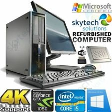 """Desktop PC HP con hard disk da 160GB dimensione dello schermo 19"""""""