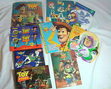 Lot of Disney Pixar Toy Story Story Books Photo Cards Postcard and Pop Up Books