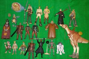 Star Wars x20 Phantom Menace Figure Lot WATTO Viceroy MAUL Kaadu TARPALS Sebulba