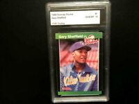 1989 DONRUSS ROOKIES #1 GARY SHEFFIELD CMR GEM MINT 10 ROOKIE CARD
