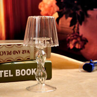 1Pc New Crystal Style Glass Light Candle Holder Candle Decoration High Quality