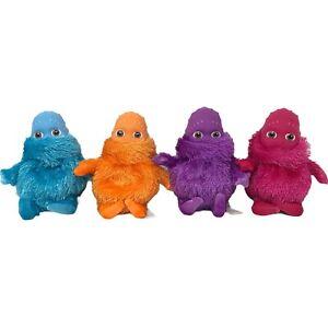 "Vintage 2004 Boohbah 7"" Plush Ragdoll Limited Orange Blue Purple Pink Lot Of 4"