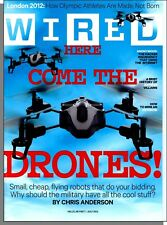 Wired - 2012, July - Here Come The Drones: Small Cheap Flying Robots For You!