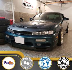 Car Bonnet Hood Bra For Nissan 240sx 97 98 1997 1998 Silvia S14 Kouki