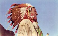CHIEF TIEBOW, LEADER OF THE COMANCHE TRIBE, CRATERVILLE PARK, OK. 1956