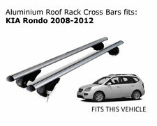 Aluminium Roof Rack Cross Bars fits Kia Rondo with existing roof rails 2008-2012