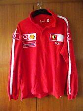 Ferrari F1 Team camisa manga larga fila Camisa Polo Tamaño XXL Algodón Motor Racing