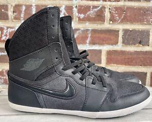 Nike Air Jordan 1 Skinny High Hi Sz 5.5Y Black/Anthracite (602656-010)