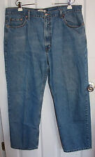 Levis 550 Blue Jeans 42x30 Relaxed Fit 100% Cotton