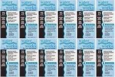 12 X Water Works Permanent Powder Hair Color Dark Brown