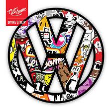 VW Sticker Bomb Sticker