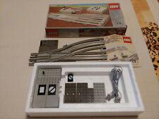 Lego Eisenbahn 12V Weiche 7859 links ferngesteuert (7858 7727 7740 7750) Train