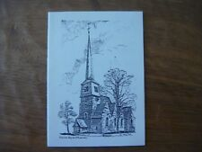 COUILLET - Eglise St Laurent ( Charleroi ) - double carte - 1989
