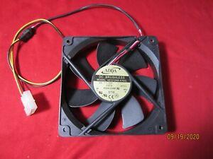 ADDA AD1212HB-A76GL DC-12V 0.37A 120x120x25mm Server Cooler Fan
