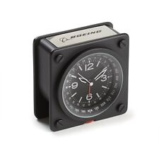 Boeing Pilot World Time Alarm Clock - Perfect Gift for Aviation Enthusiasts