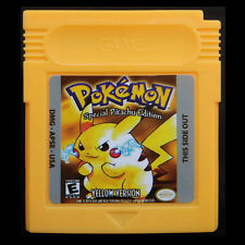 Game Cards For Nintendo Pokemon GBC Gameboy Pikachu Edition Kids Gifts