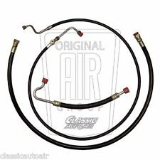 1967-1968 Mustang Cougar A/C Hose Set (4pc) 390/428 Air Conditioning Ac (Nylon)