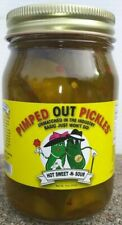 Pimped Out Pickles - 1 (Hot Sweet & Sour) 16oz Jar (Unlimited Supply In Stock)