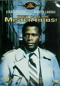 They Call Me Mister Tibbs : Sidney Poitier very good condition dvd rare oop t21