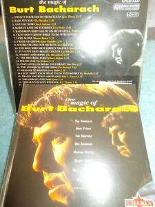 BURT BACHARACH - THE MAGIC OF - UK 22 TRK CD -VERY CLEAN-GENE PITNEY-SHIRELLES