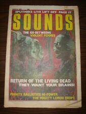 SOUNDS 1986 MAR 8 SIGUE SIGUE SPUTNIK LIVING DEAD