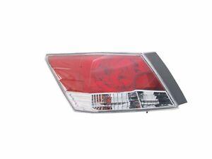 TYC NSF Certified Left Side Tail Light Lamp for Honda Accord Sedan 2008-2012