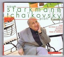 TCHAIKOVSKY CD NEW NAUM STARKMANN VALSES/ UN POCCO DI CHOPIN/ NOCTURNE
