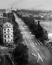 8x10 Print KKK Ku Klux Klan Parade Washington D.C. 1926 #KK94