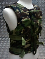 Genuine British Forces Woodland DPM Camo Body Vest - NEW