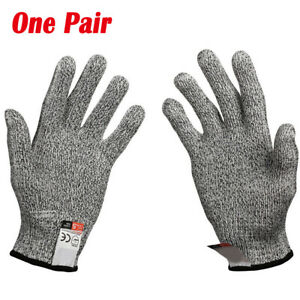 New Safety Cut Proof Stab Resistant Wire HHPE Mesh Butcher Gloves AU
