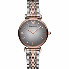 Emporio Armani AR1725 Two Tone Stainless Steel Ladies Wrist Watch
