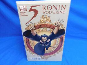 5 RONIN #1  WOLVERINE  JOHN CASSADAY VARIANT  MARVEL 2011  VF/NM