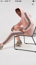 Adidas Originals Superstar Tracksuit Jacket & Pants Pink Black Size Large