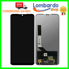 DISPLAY LCD XIAOMI REDMI NOTE 7 TOUCH SCREEN SCHERMO MONITOR VETRO NERO 7 PRO