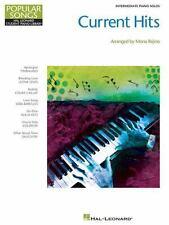 Current Hits Intermediate Piano Solos Coldplay Alicia Keyes Sarah Bareilles