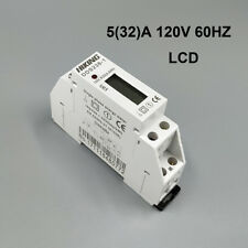 5(32)A 120V 60HZ Single phase Din rail Watt hour energy meter LCD digital disply