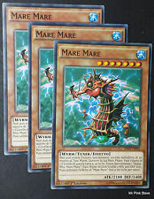 Set 3X MARE MARE INOV-IT094 Comune in Italiano YUGIOH