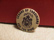 LEAGUE OF TARCISIANS FOR THE KING JESUS BIBLE PRAY CHURCH RELIGIOUS PIN PINBACK