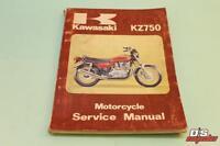 OEM KAWASAKI 1979-1980 KZ750 Service Manual PART# 99924-1013-02