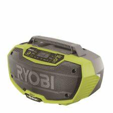 Ryobi One 18v Hybrid 2 Speaker Radio With Bluetooth Cordless and Corded Option
