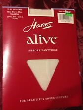 Vintage Hanes pearl sheer to waist pantyhose size a