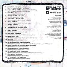 Resident Sampler #9 V/A CD Album M83 Olafur Arnalds The Pop Group etc