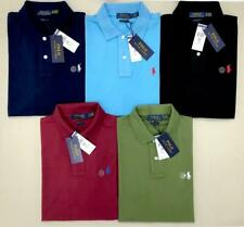 Polo Ralph Lauren Men's Pony Custom Slim Fit Mesh Polo Shirt Short Sleeve Shirt