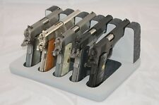 Pistol 5 Gun Rack Stand 503 Gray Cabinet Safe