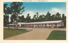 F5578 NC, Shallotte Twilight Motel Postcard