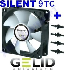 VENTOLA CASE PC 92mm GELID SILENT TC 9 FAN 90 + GOMMINI