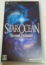 PSP Portable STAR OCEAN 2 Second Evolution Japan