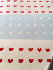 150 Red, white and pink Love Hearts Nail Art Stickers